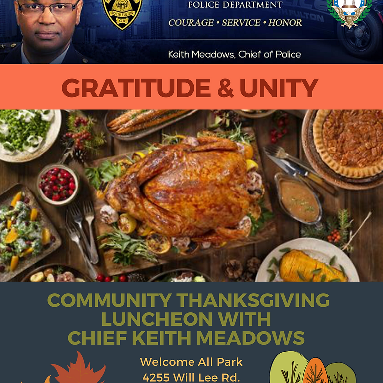 Thanksgiving with the Chief