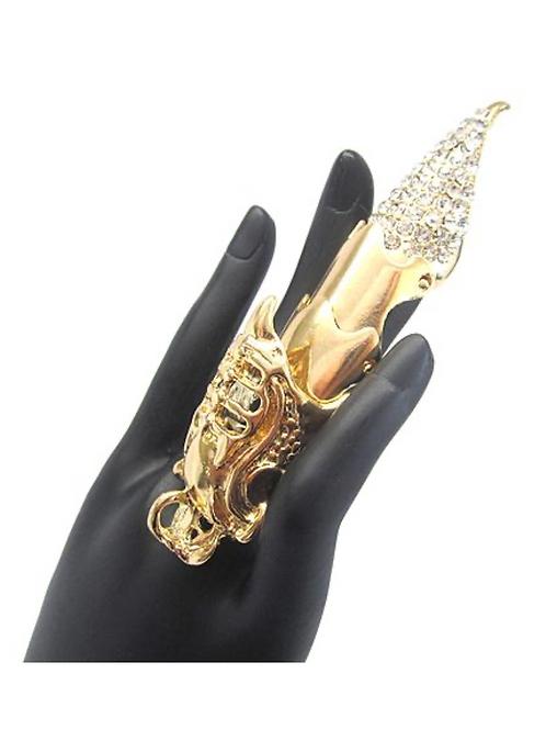 Warrior Knuckle Ring