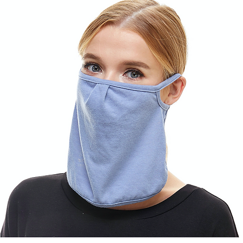 Cotton Face and Neck Mask