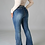 Thumbnail: Fitted Denim with Flare Bottom