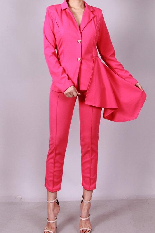 Fuchsia Pant Suit