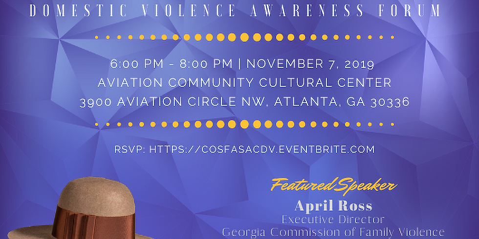 Hats Off | Domestic Violence Event