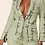 Thumbnail: Sage Poetic Pant Suit with Brooch