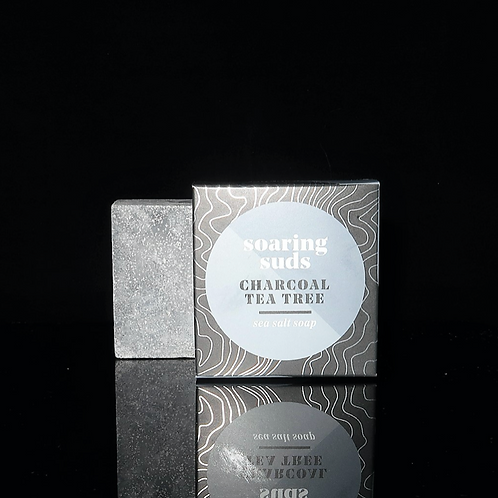 Charcoal Tea Tree Sea Salt Soap