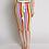 Thumbnail: Crochet Multi Color Top and Midi Skirt Set