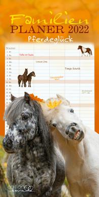 Familienplaner Pferdeglück 2022