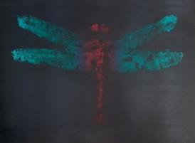 Qianzhi Zeng / Barndomsminne / 67 x 56 cm / litografi / kr 5.800