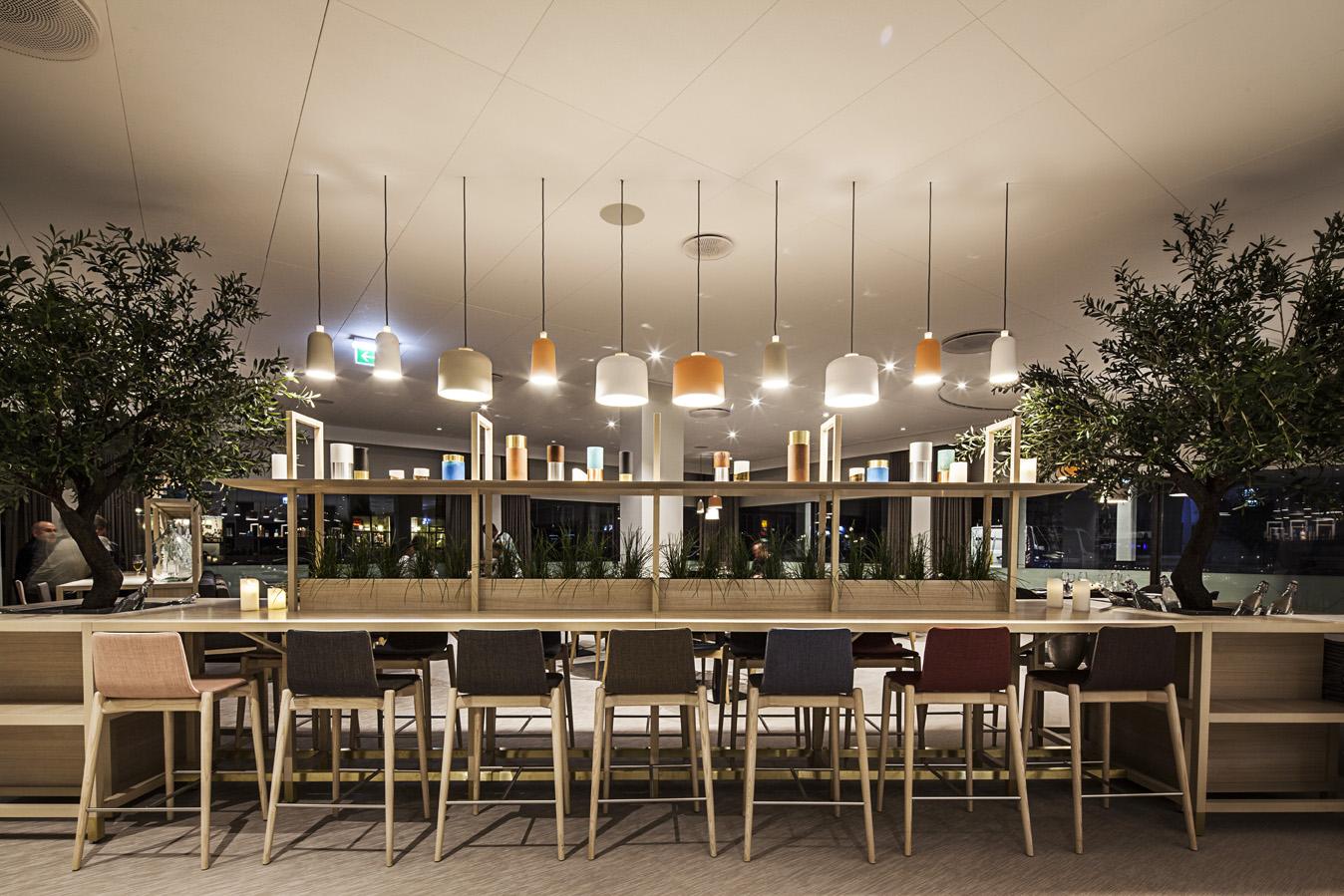 BrasserieX-Langbord-aften-Quality-Airport-Hotel-Dan