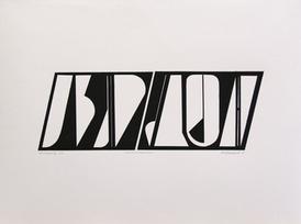 Anne Kari Ødegård / Konfigurasjon / Kollografi / 57 x 76 cm / kr 3900