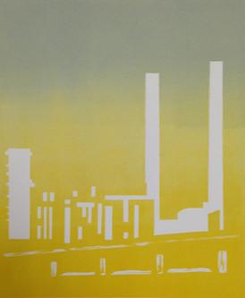 Rosanna Vio / Piper / 15 x 18 cm / linotrykk / 1500 kr