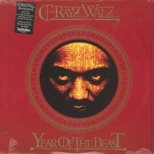C-Rayz Walz ‎– Year Of The Beast #9 (Vinyl LP Album)