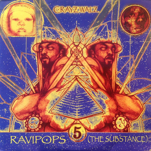 RAVIPOPS (The Substance) #6 (Compact Disc)