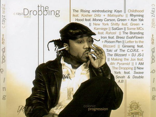C-Rayz Walz – The Dropping #14 (Compact Disc)