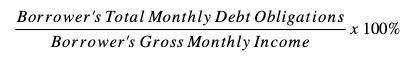 TDSR Formula