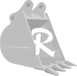 Excavator Bucket Logo