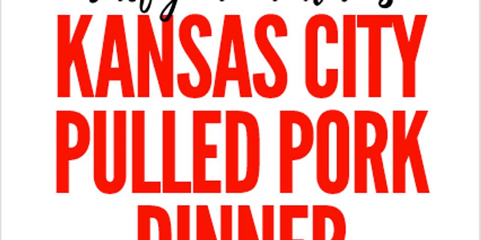 Chef John Hudak's Kansas City Pulled Pork Dinner