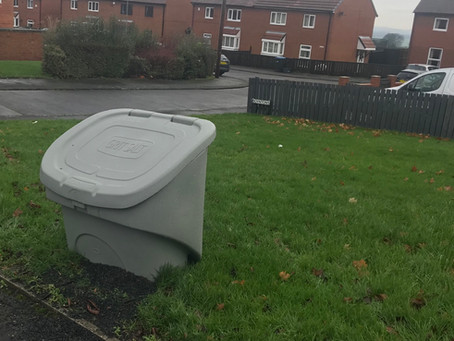 Salt bins purchased to assist our residents in Winter