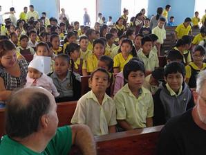 Painting St. Jude's School - Las Flores, Belize (February 8 - 15, 2016)