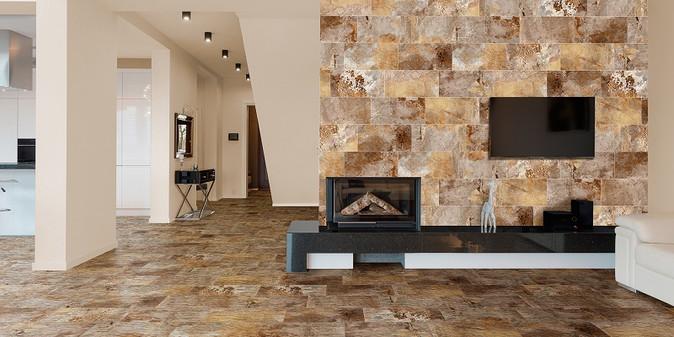 Slate Wall & Floor