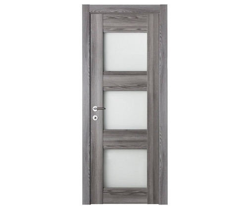 Domino G3 with Glass in Gray Oak