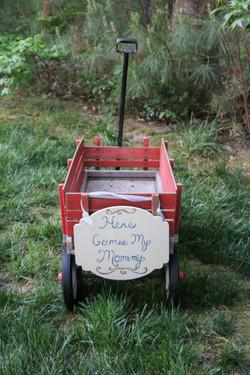Ring Bearer Wagon