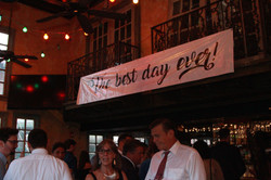 Custom Sign for the Reception