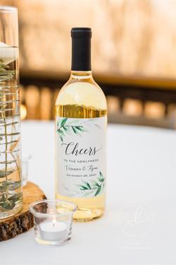 Custom Whine bottles