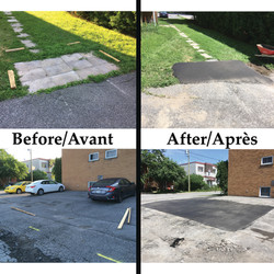 before and after prevost paving
