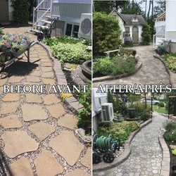 before and after 158 bertrand landscapin