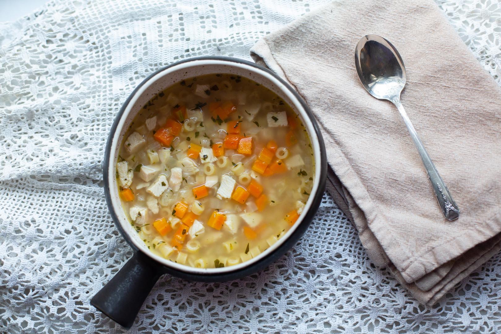 Joel's Cold Cure Soup