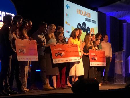 Os vencedores do Hackaton da Economia Criativa em Londrina