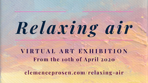 Relaxing Air, a Virtual Art Exhibition