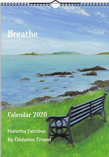"2020 Calendar ""Breathe"""