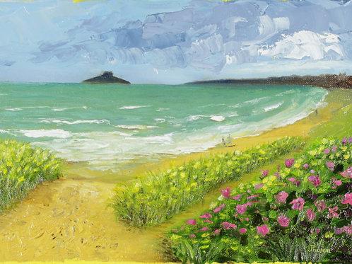Blossoming Sand (Framed)