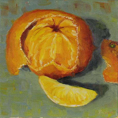 Dear Wintery Friend - Oil Painting