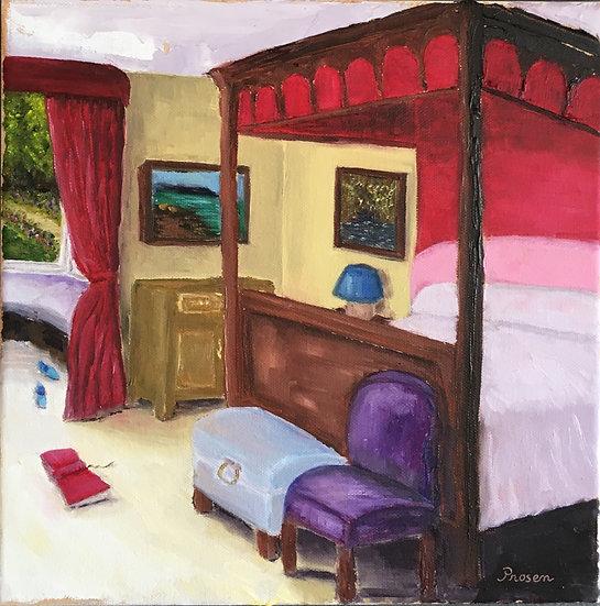 Seeking Adventures, Oil Painting, 30.5x30.5cm