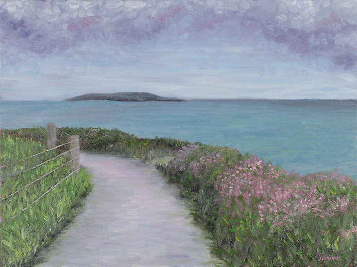 The Right Path - Oil Painting with Frame