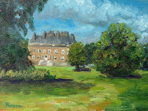 In the Shade of a Fine Day - Oil Painting