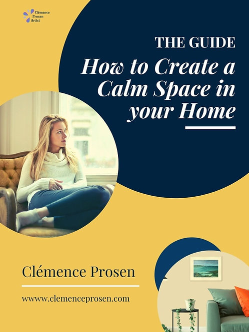 PDF Guide: How to create a Calm Space in Your Home