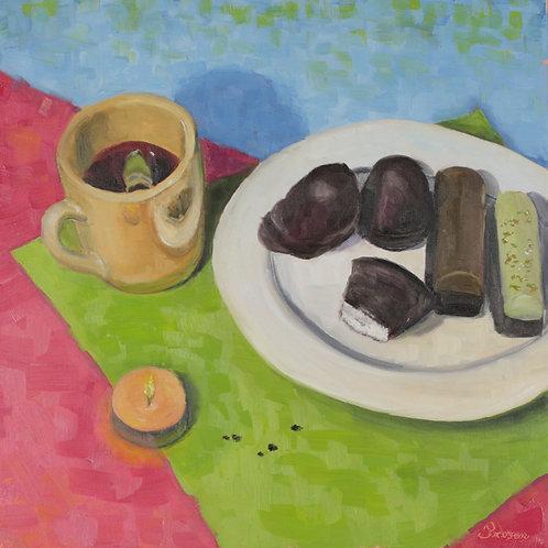 Hyggelig Memories, Oil painting