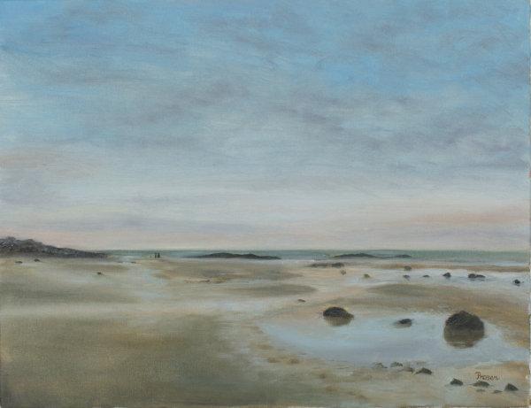 Between Two Tides (Framed)