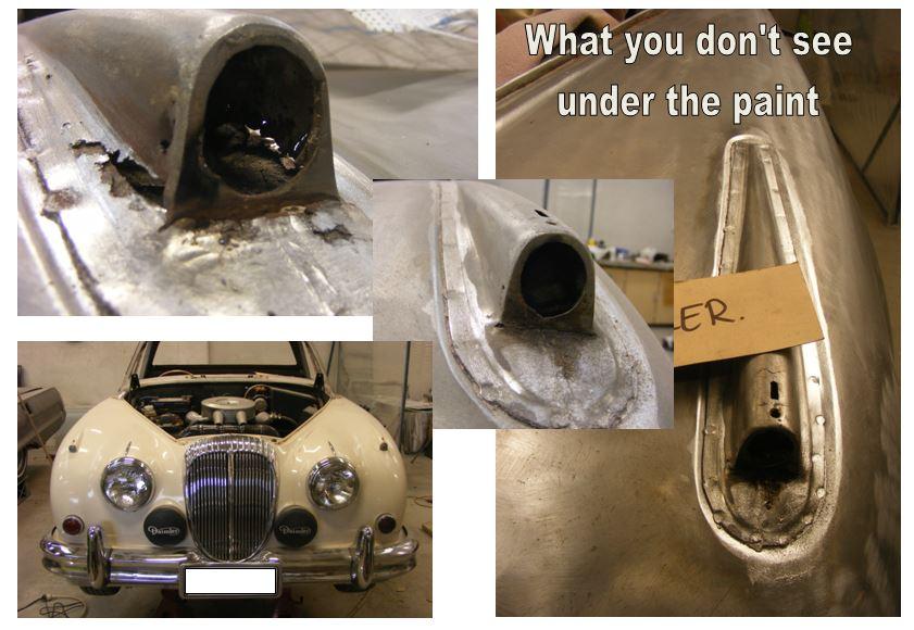 1963 Daimler UTE conversion