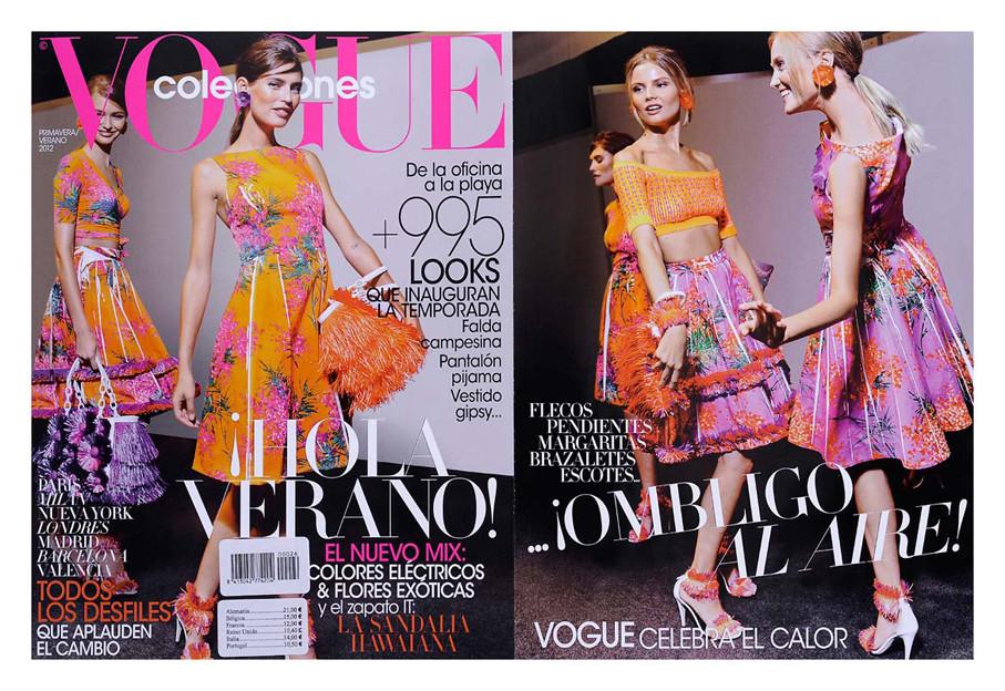 Double Page Vogue Spain