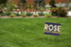 Jarred Rose for State Senate Lawn Sign