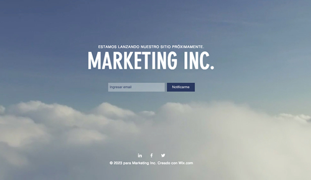 Landing Page website templates – Lanzamiento de Marketing