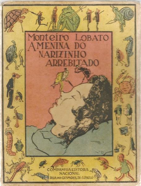 Essas são algumas capas antigas dos livros infantis do Monteiro Lobato! E aí, quais você já leu?