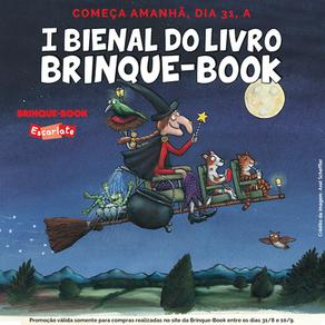 Bienal da Brinque-Book dá desconto nos livros mais vendidos da editora
