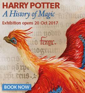 cartaz da exposição da Biblioteca Britânica