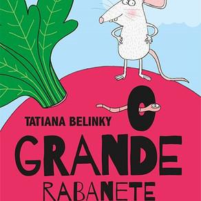 Nova ilustração de um livro muito querido: O grande rabanete