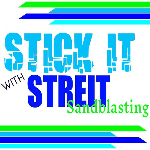 Streit Sandblasting Gift Card